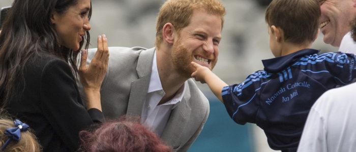 بالصور.. جولة الأمير هاري وميجان في دبلن