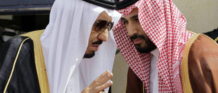 وزير الخزانة البريطاني التقي بالملك سلمان وولي العهد