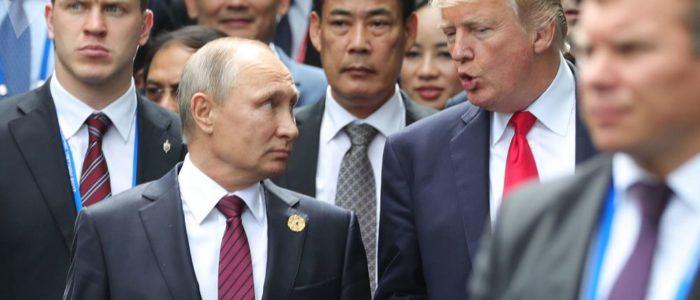 ترامب: لا أعرف عمّ سأتحدث مع بوتين في باريس!