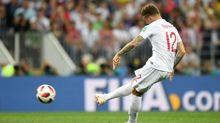 تريبيير هو ثالث إنجليزي يسجل في نصف نهائي كأس العالم