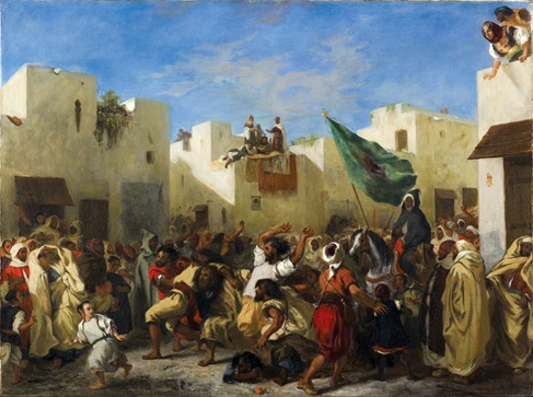 طنجة 1838 ديلاكروا