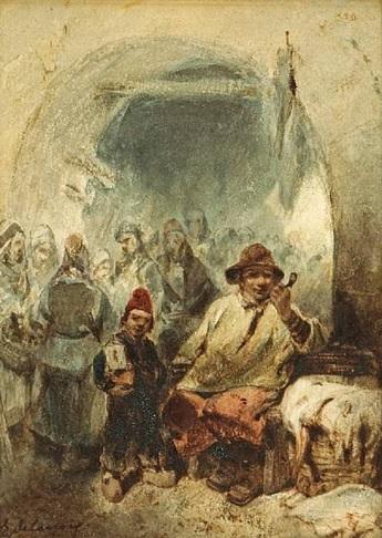 لوحة الحي اليهودي قسنطينة متحف فرحات Farhat Art Museum