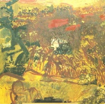 لوحة معتقل الخيام لفاطمة الحاج