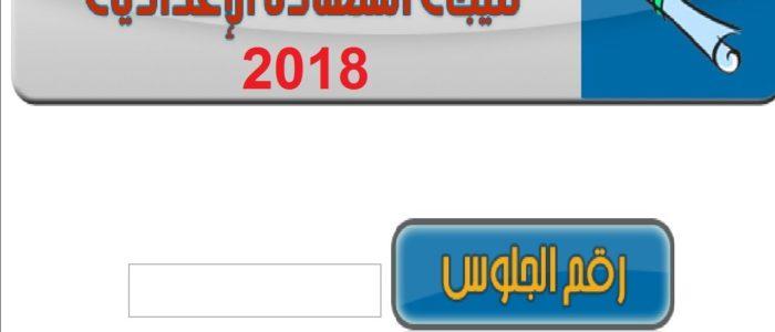 """نتيجة الشهادة الإعدادية بالجيزة الدور الثاني 2018 """"ملاحق"""" بالإسم ورقم الجلوس"""
