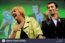 جام وكلاوديا-الرئيسين التشاركيين في حزب الخضر الالماني