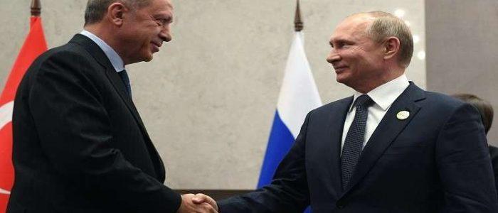 التايمز: لقاء أردوغان وبوتين المرتقب سينقذ 3 ملايين نسمة من المعارضة السورية