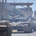 الجيش السورى يدمر نقاطا محصنة لتنظيم جبهة النصرة بريف أدلب الجنوبى