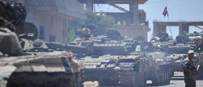 الجيش السوري يدخل مدينة عين العرب كوباني