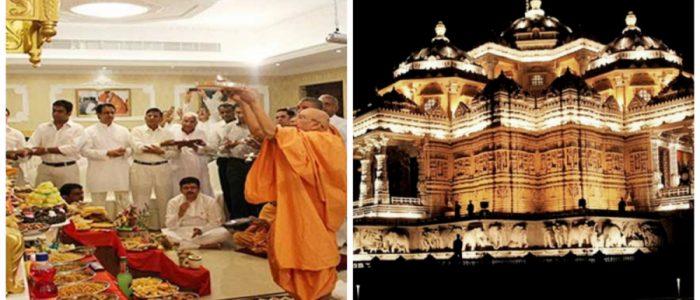 الأمارات تشيد أكبر معبد هندوسي