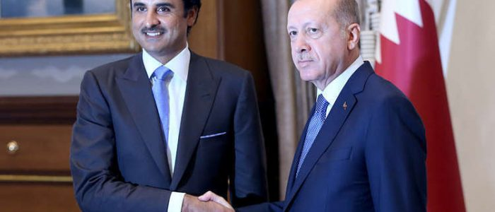 أمير قطر يهنئ أردوغان