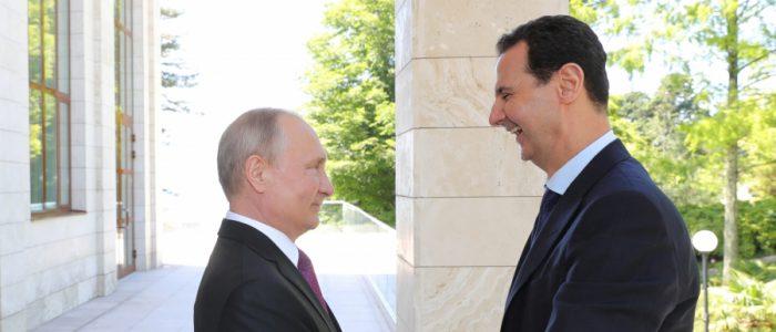 بلومبرج: بوتين يعاني من صداع سوريا والكرملين يلوم الأس
