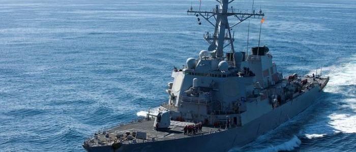البحرية الأمريكية تصادر أسلحة أمام سواحل اليمن