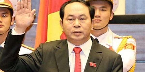رئيس جمهورية فيتنام ينتهى من جولاته الأثرية بالأقصر
