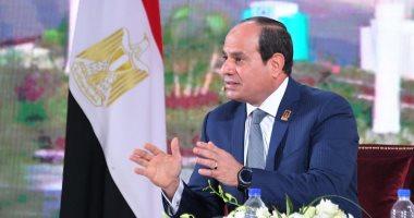 """السيسي فى ذكرى انتصارات أكتوبر: """"مصر عندما تقرر فإنها تستطيع"""""""