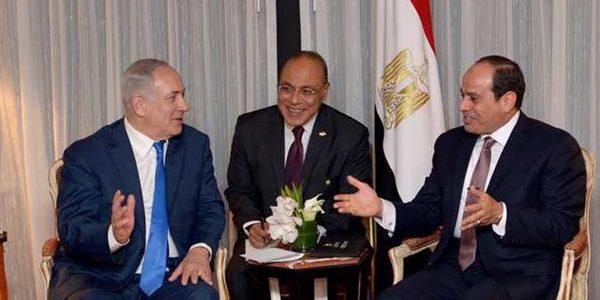 وزير المالية الإسرائيلى يدعى لقاء السيسى ونتنياهو سرا