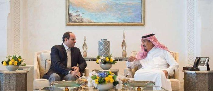 السيسي يقوم بزيارة مفاجئة إلى نيوم السعودية ويجري محادثات مع الملك سلمان