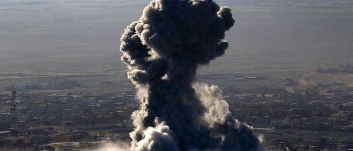 العراق يقصف غرفة عمليات لداعش داخل سوريا