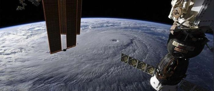 المحطة الفضائية الدولية تشارك في دراسة الأعاصير البحرية