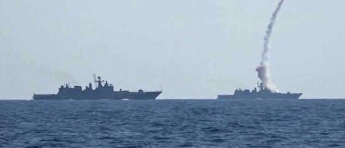 روسيا تجري تدريبات عسكرية في البحر المتوسط