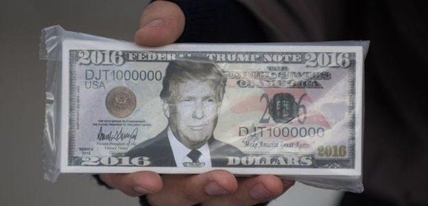 كيف يستخدم ترامب المال في حروبه