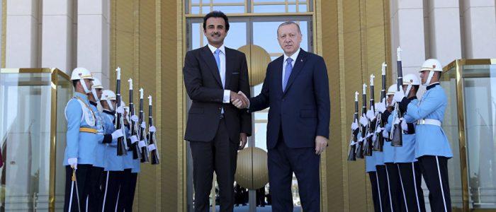 أردوغان وأمير قطر العلاقات الثنائية وسبل توطيد التعاون الاستراتيجي