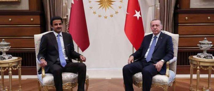 تركيا تستنزف قطر تحت الضغط