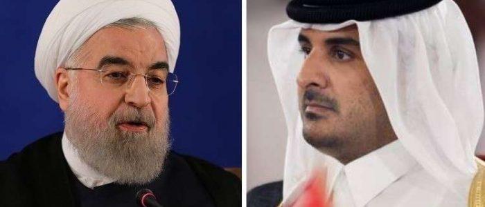 روحاني للأمير تميم: شركاتنا مستعدة لمساعدة قطر في التحضيرات للمونديال