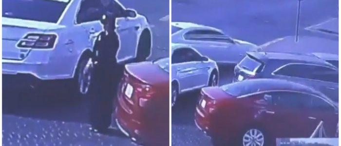 بالفيديو.. لأول مرة في السعودية فتاة تسرق سيارة في وضح النهار