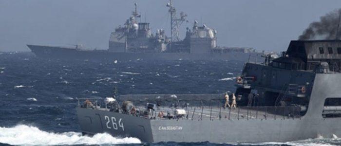 سفن حربية روسية من الأسطول الشمالي تزور الجزائر