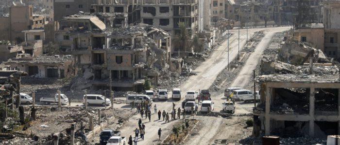 النظام السوري يتهم المعارضة المسلحة بقصف حلب بالغازات السامة