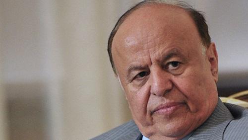 الرئيس اليمني يشيد بدور الجامعة العربية في دعم الشرعية ببلادة