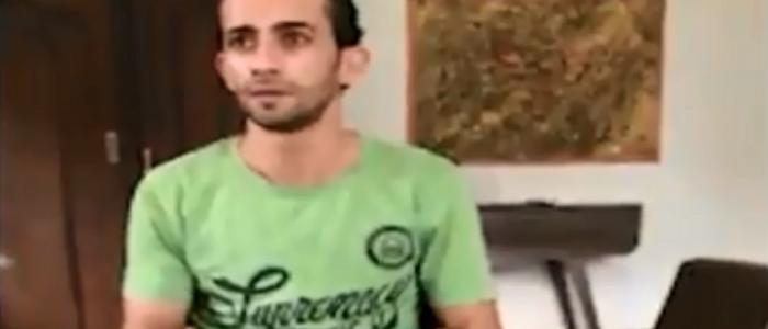 بالفيديو .. لحظة اعتراف قاتل طفليه بالدقهلية بجريمته