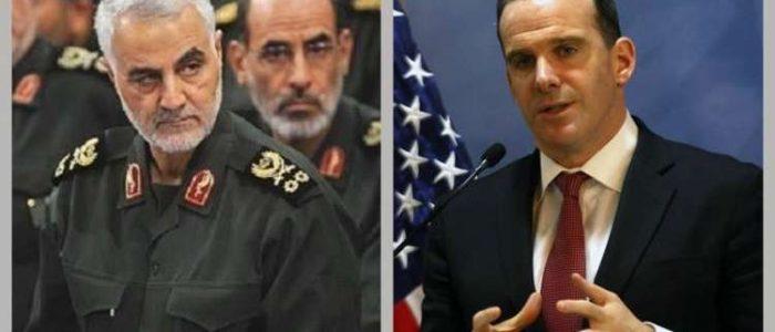 مبعوث ترامب وسليماني يحثان الخطى نحو بغداد