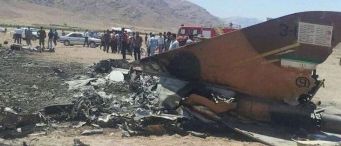 """مقتل طيار إيراني جراء تحطم مقاتلته """"F-5"""" جنوب غربي البلاد"""