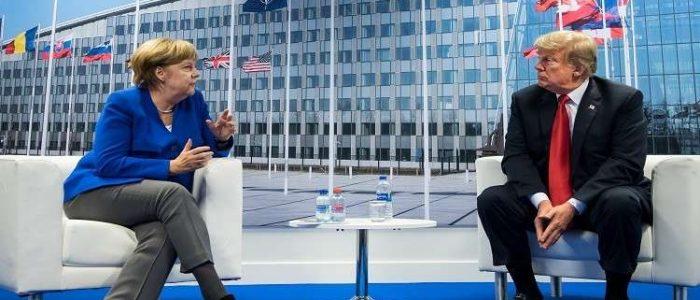 ميركل وترامب يعبران عن قلقهما إزاء التطورات في سوريا