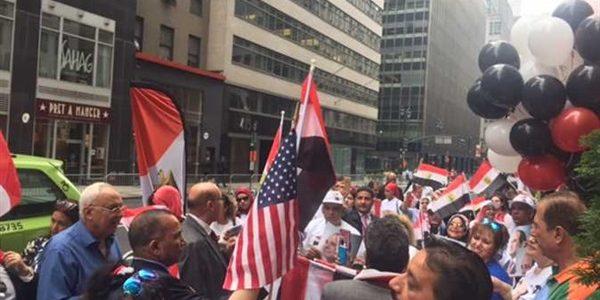 «أقباط من أجل الوطن»: استقبال السيسي في أمريكا «واجب وطني»