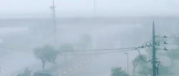 الإعصار ترامي يتوجه نحو أوساكا اليابانية