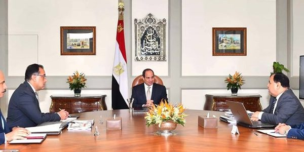 """توجيهات هامة من """"السيسي"""" لرئيس الوزراء ووزير المالية"""