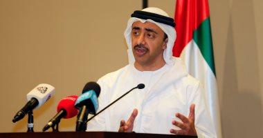 وزير خارجية الإمارات: ناقشت مع الرئيس السيسي التحديات المشتركة