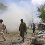 انفجار كبير فى العاصمة الصومالية تلاه إطلاق نار