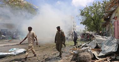 وصول 68 آلية عسكرية قطرية إلى أراضي الصومال