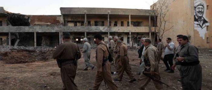 الحرس الثوري الإيراني يعلن قصف منشقين أكراد في شمال العراق