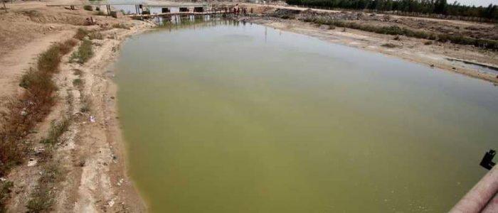 أزمة المياه تضرب خبز العراقيين