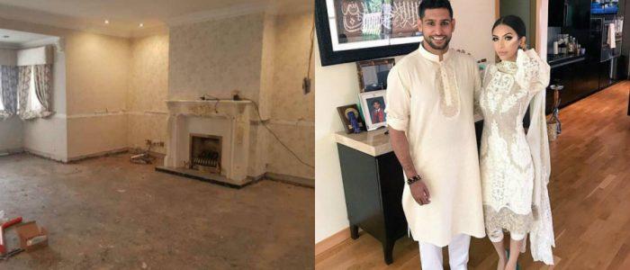 الملاكم أمير خان يستبدل قصره بمنزل من 4 غرف وزوجته تنفق 320 ألف دولار لتجديده!