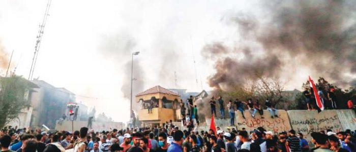 السفارة الأمريكية في بغداد تنشر تحذيرا أمنيا