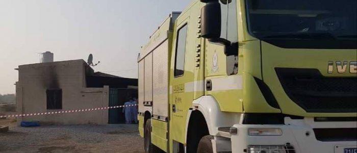 حريق يقتل 10 مواطنين في عمان