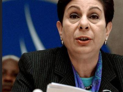 عشراوي: إلغاء السلطات الأمريكية تأشيرات عائلة السفير زملط إجراء انتقامي