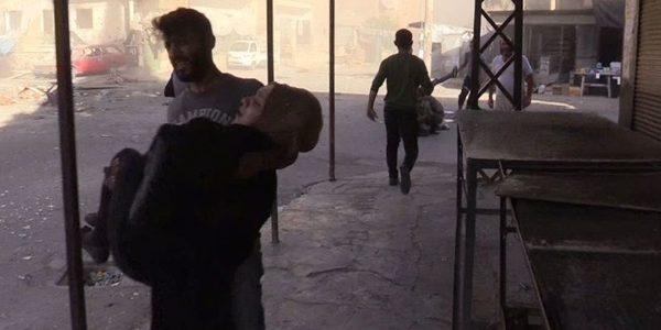 8 قتلى بينهم 5 أطفال بغارات التحالف الدولي على ريف دير الزور بسوريا