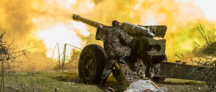 """الجيش السوري يقصف مواقع """"النصرة"""" في ريف إدلب"""