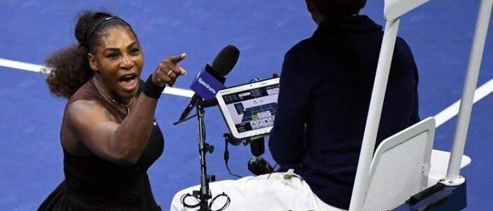 تغريم سيرينا وليامز 17 ألف دولار لتعديها لفظيا على حكم مباراة نهائي أمريكا المفتوحة للتنس